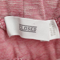 Closed Jogging pants in pink