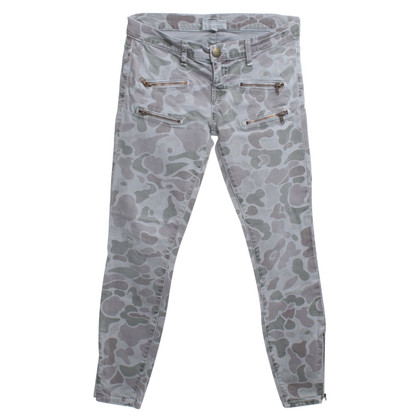 Current Elliott Jeans with camouflage pattern