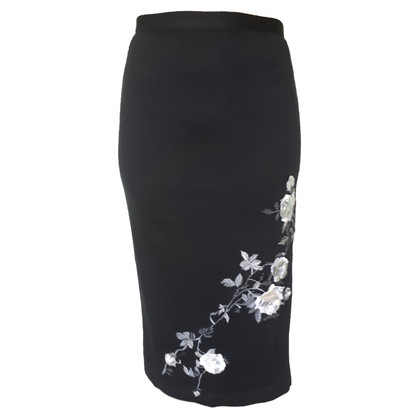 Dolce & Gabbana Wool long skirt with embroidery