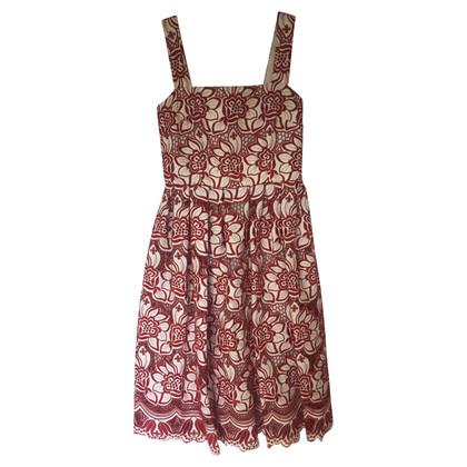 Dolce & Gabbana Geborduurde uitgesneden jurk