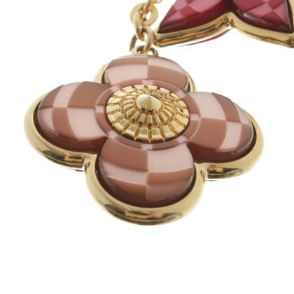Louis Vuitton Schlüsselanhänger mit Blumen
