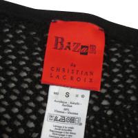 Christian Lacroix Mesh shirt in black