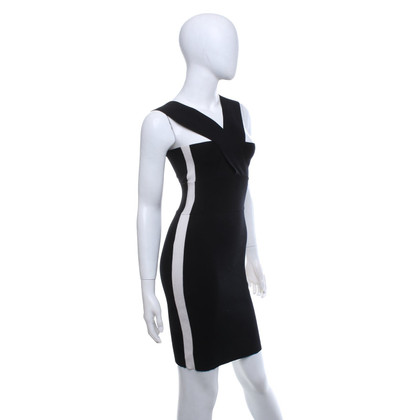 Alexander McQueen Dress in black and white