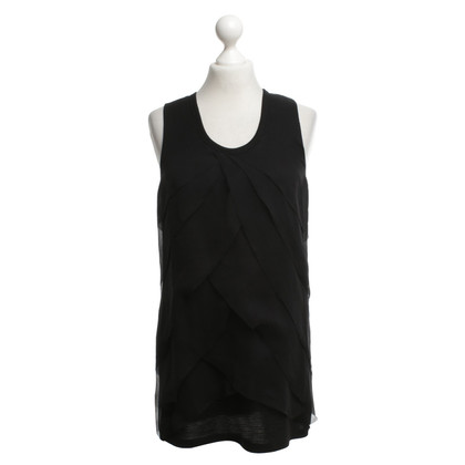 Vera Wang top in black
