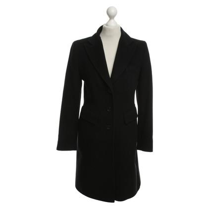 Riani cappotto di lana in nero