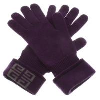 Givenchy Handschuhe in Violett