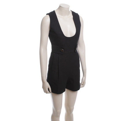 Chloé Short jumpsuit in black