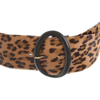 Ralph Lauren Belt with leopard pattern