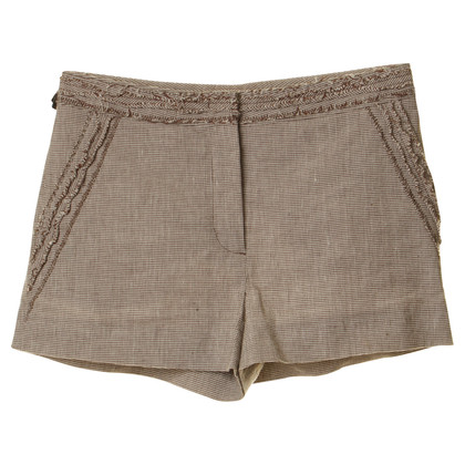 Ermanno Scervino Shorts with fringe trims