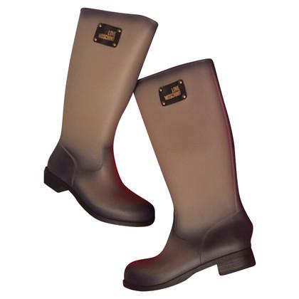 Moschino rain boots