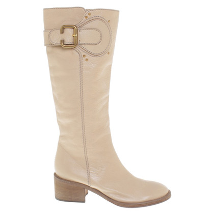 Chloé Boots in Beige