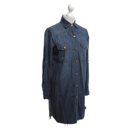 Current Elliott Denim jurk in blauw