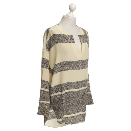 By Malene Birger Silk tunic with motif print