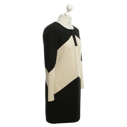 Diane von Furstenberg Dress in cream and black