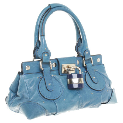 "Chloé ""Paddington Bag"" in Blau"