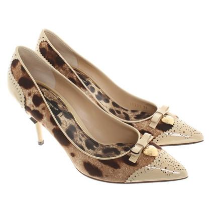 Dolce & Gabbana pumps luipaard print