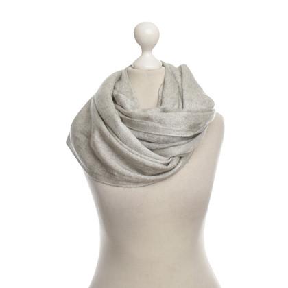 Brunello Cucinelli Kasjmier sjaal grijs