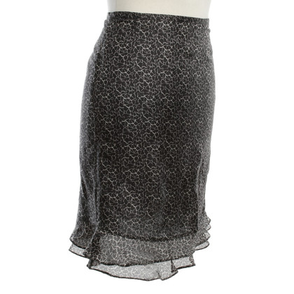 Joseph Silk skirt with floral pattern