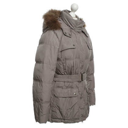 Other Designer Add - down jacket with fur collar