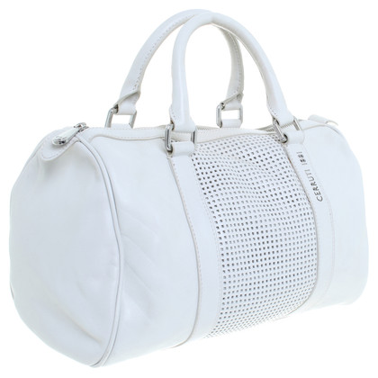 Cerruti 1881 Bowling bag in cream