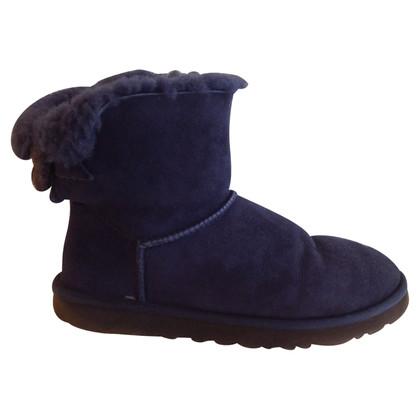 UGG Australia Schapenvacht laarzen in donkerblauw