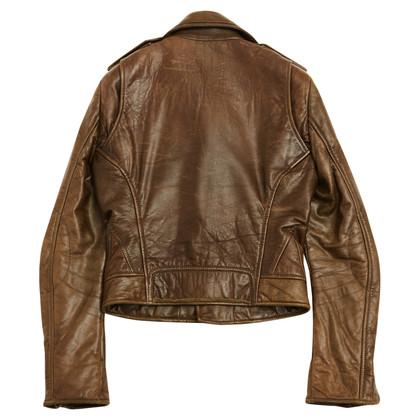 Balenciaga biker jasje