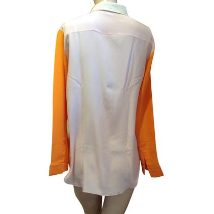Christian Dior Zijden blouse van Christian Diot