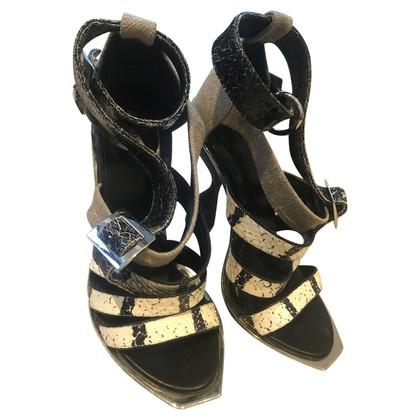 Balenciaga Sandaletten mit Muster