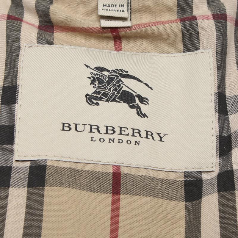 Burberry mantel rebelle