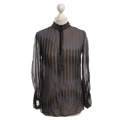 Armani Blouse with patterns Print