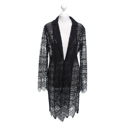 Twin-Set Simona Barbieri Coat of lace