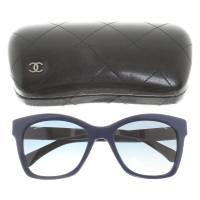 Chanel Lunettes de soleil en bleu
