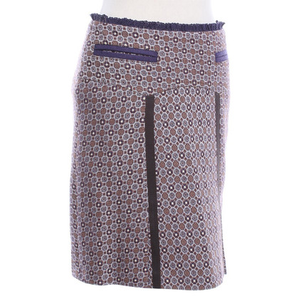 Strenesse skirt with geometric pattern