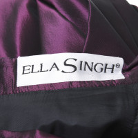 Ella Singh 2-teiliges Abendkleid mit Gürtel
