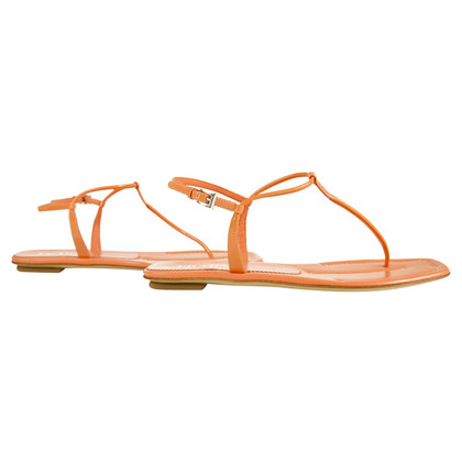 Prada Sandalen in Orange