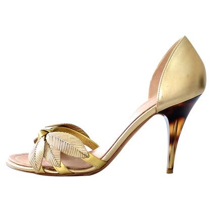 Giuseppe Zanotti Golden sandal