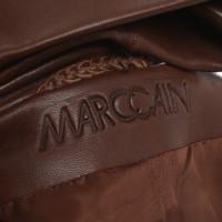 Marc Cain Jasje van het leer in bruin