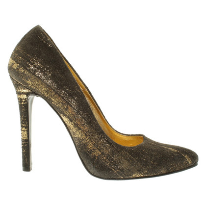 Wunderkind pumps in metallic look