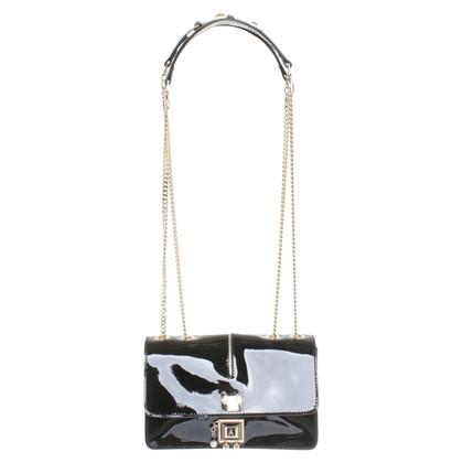 Patrizia Pepe Patent leather shoulder bag