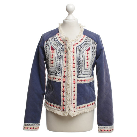 Andere Marke Alphamoment - Jacke mit Stickereien Bunt / Muster