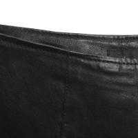 Roberto Cavalli Leather pants in black