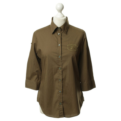 Burberry Blouse in olive
