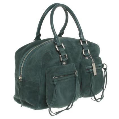DKNY Handtas van het leer in het groen