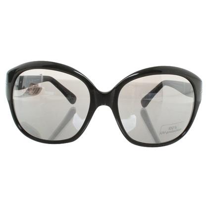 L'Wren Scott Sonnenbrille in Schwarz