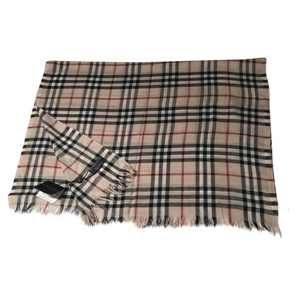 Burberry Beige cashmere scarf
