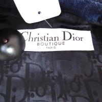 Christian Dior Denim blazer with embroidery