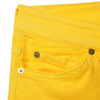 7 For All Mankind Jeans in yellow