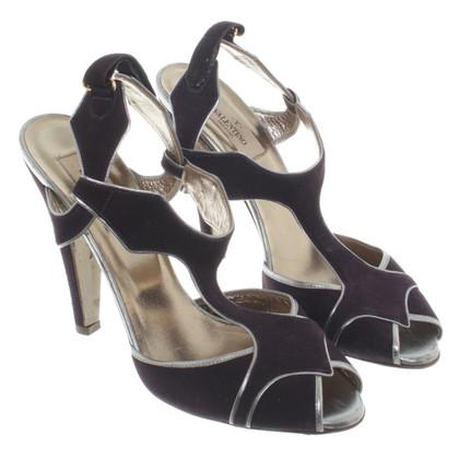 Valentino Sandaletten aus Wildleder