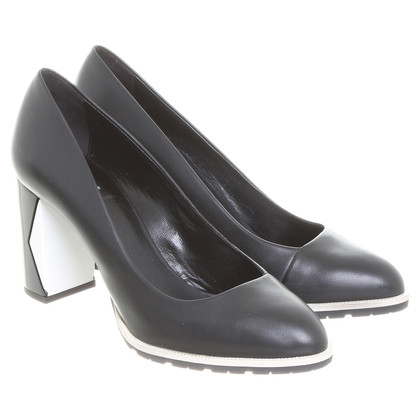 Karl Lagerfeld pumps zwart wit