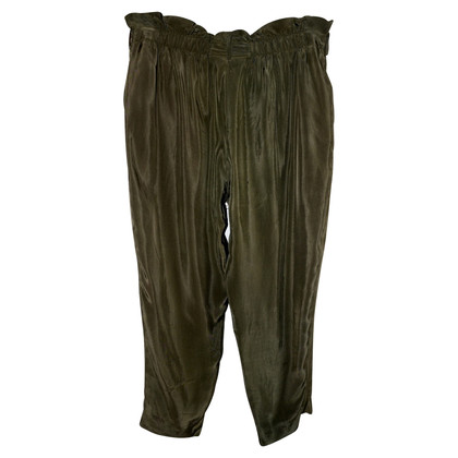 Max Mara Pantaloni in verde oliva